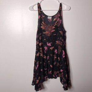 Free People Womens Floral Baby Doll dress Size XS